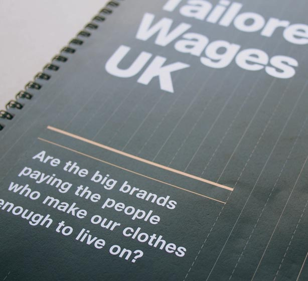 Tailored wages cover